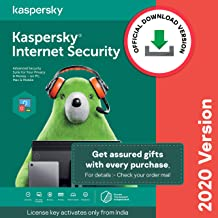 Kaspersky Internet Security Latest Version - 1 PC, 1 Year (Code emailed in 2 Hours - No CD)