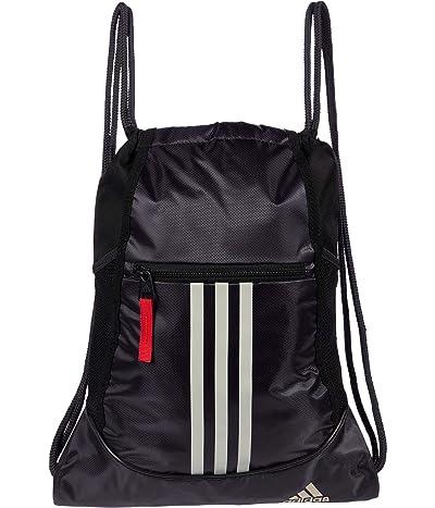 adidas Alliance II Sackpack (Blue/Crew Navy/Black/Alumina/Crew Red) Backpack Bags
