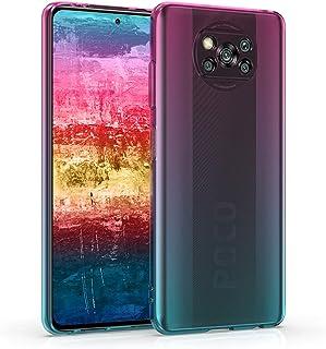 kwmobile 対応: Xiaomi Poco X3 NFC/Poco X3 Pro ケース - シリコン スマホカバー 心はずむ グラデーション - 薄型 携帯ケース