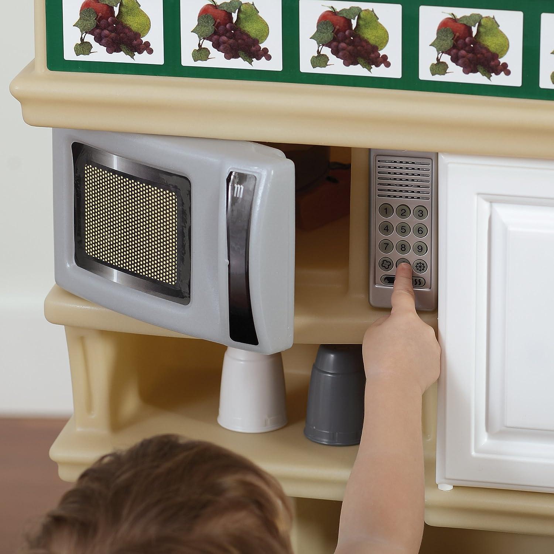 Amazon Com Step2 Lifestyle Deluxe Kids Pretend Kitchen Toys Games