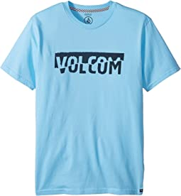 Volcom Kids - Fracture Short Sleeve Tee (Big Kids)