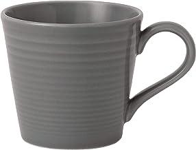 Royal Doulton Maze Mug, 12 oz, Dark Grey