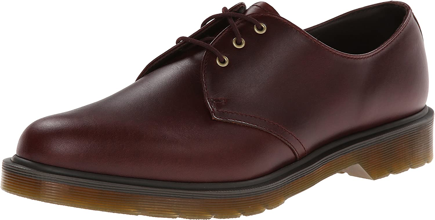Dr. Martens Unisex 1461 PW 3-Eye shoes Brown