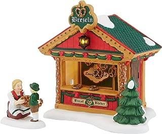Department 56 Alpine Village Christmas Market The Pretzel Booth Accessory Figurine, 4.72 inch