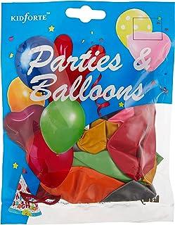 """Partyforte Metallic Balloon, 12"""", 20 Count, Assorted"""