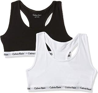 Calvin Klein 2pk Bralette, Reggiseno Bambina