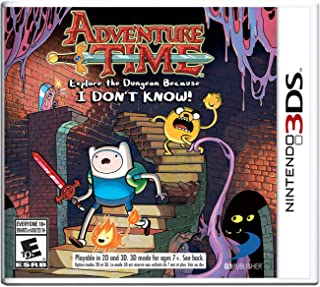 Adventure Time: Explore the Dungeon Because I DON'T KNOW! 3DS (Renewed)