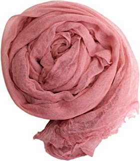 "AMOS and SAWYER Cheesecloth Wrap, Hand Dyed, 36""x72"" (Before Dying), Grade 50 Cheesecloth, Newborn Baby Layer Photography Prop (Dried Rose)"