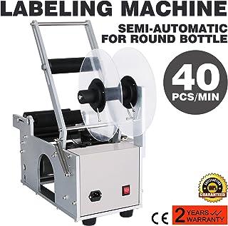VEVOR Label Applicator Label Applicator Machine Bottle Labeling Machine Bottle Labeler Semi-Automatic Round for 12-90 mm (MT-50)