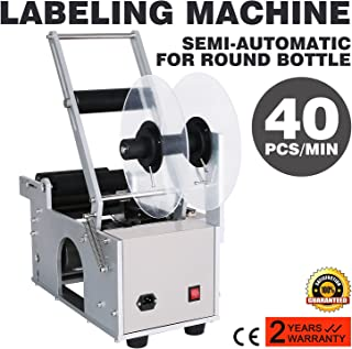 Maxwolf Label Applicator Label Applicator Machine Bottle Labeling Machine Bottle Labeler Semi-Automatic Round for 12-90 mm