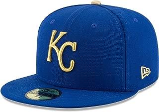 New Era 59Fifty Hat Kansas City Royals Authentic Alternate Blue Cap 70346370