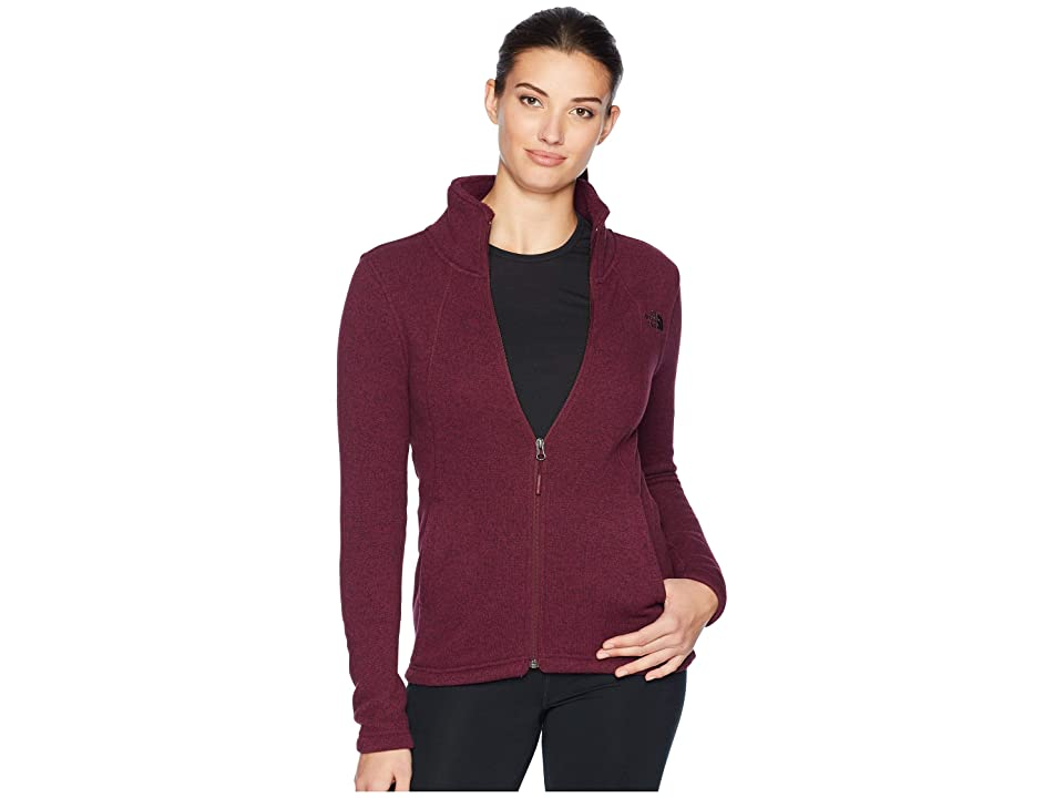 The North Face Crescent Full Zip (Fig Heather) Women