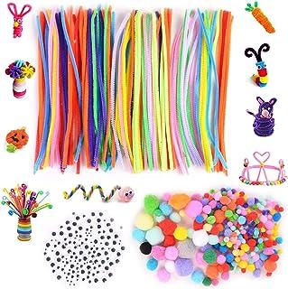 Xnuoyo Boîtes De Matériel DIY, 18 Types De Kits De Matériaux D'artisanat Faits à La Main, Jouets De Matériaux Créatifs Pou...