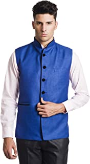 c7d2b79e283 Amazon.in: Blues - Nehru Jackets / Ethnic Wear: Clothing & Accessories