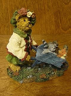 Boyds Bears Resin Olive Leafowitz W/ Forest Friends Fall Bearstone 1E Fox - Resin 3.00 IN