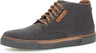 Gabor Pius Herren Sneaker high,Halbschuhe,zertifiziertes Leder,Wechselfußbett
