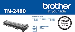 Brother TN-2480 ASA Original Toner Cartridge Compatible with DCP/HL/MFC, 3000 Pages, Black