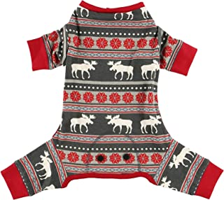 Family Matching Christmas Pajamas by LazyOne | Moose Fair Isle Festive Holiday PJ's
