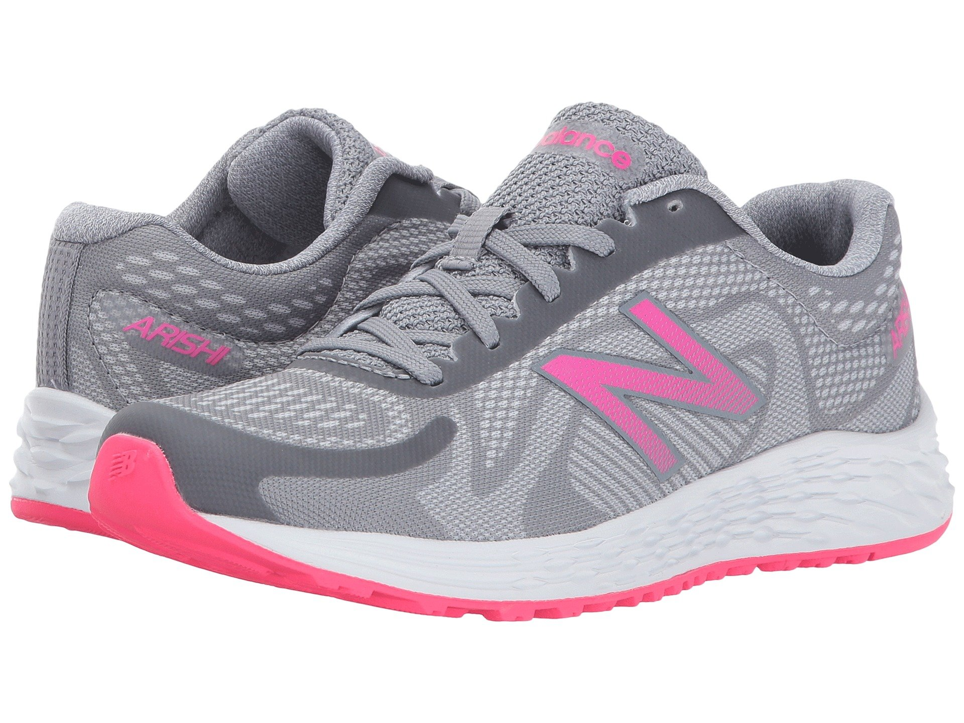 Sneakers athletic shoes gray girls shipped free at zappos view more like this new balance kids arishi little kidbig kid geenschuldenfo Images