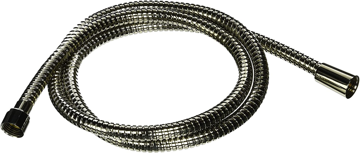 JADO H960440.150 Deck Mount Personal Hand Shower Hose, Platinum Nickel