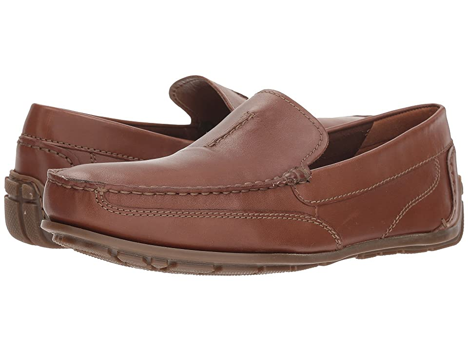 Clarks Benero Race (Tan Smooth Leather) Men