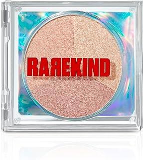 RAREKIND Cheekers Powder Blusher - پالت رژگونه 3 رنگ ، پودر آرایش سبک برای برافروختگی طبیعی - طراحی اختصاصی CD توسط Amorepacific-Highlighter