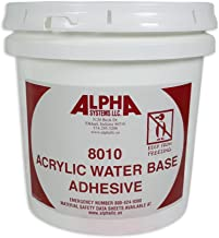 RV Rubber Roof Adhesive 8010 Alpha/Dicor Gallon Water-Based Universal RV Roof Glue