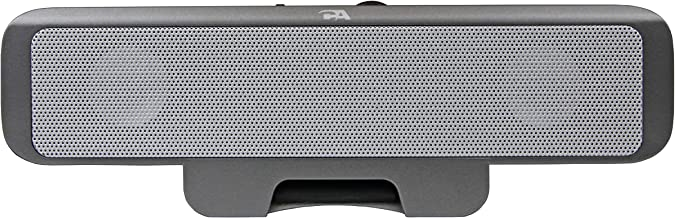 Portable USB laptop speaker - designed for computer travel by Cyber Acoustics (CA-2880)