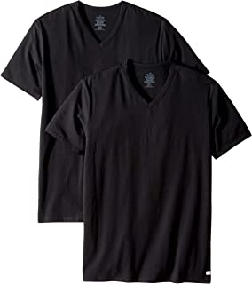 Calvin Klein Men's Cotton Stretch V-Neck T-Shirt (2 Pack)