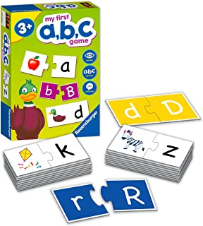 Ravensburger My First ABC Educational Games for Kids Age 4 Years Up - Ideal for Early Learning, Alphabet, Reading and Spel...