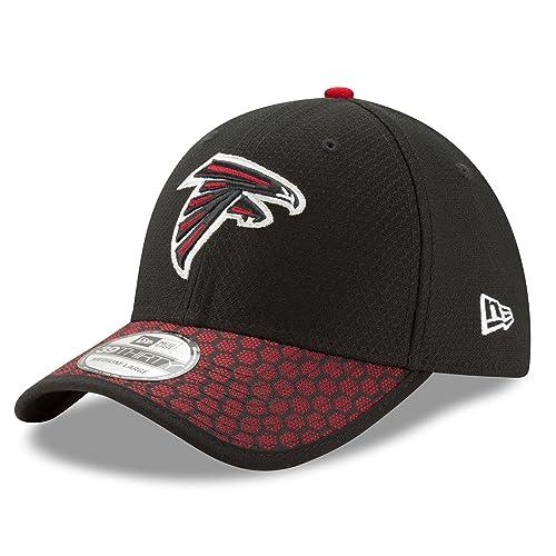 New Era Atlanta Falcons Baseball Hat Cap NFL ONF17 39Thirty Sideline GA  11462149 Black ca85e9567fc2