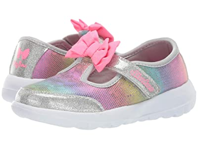SKECHERS KIDS Go Walk Joy Bitty Glam 81179N (Infant/Toddler/Little Kid) (Gray) Girls Shoes