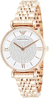 Emporio Armani Ladies Wrist Watch, Rose Gold AR11244