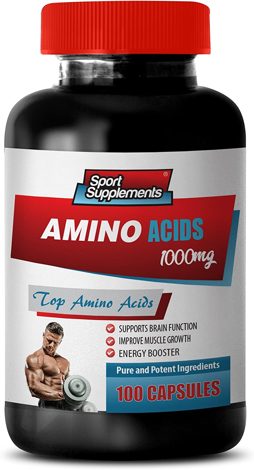 Workout Supplements Over item handling ☆ for Men Muscle - ACIDS Am online shopping 1000Mg Amino TOP