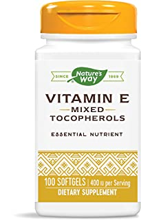 Nature's Way Vitamin E Mixed Tocopherols, 100 Softgels