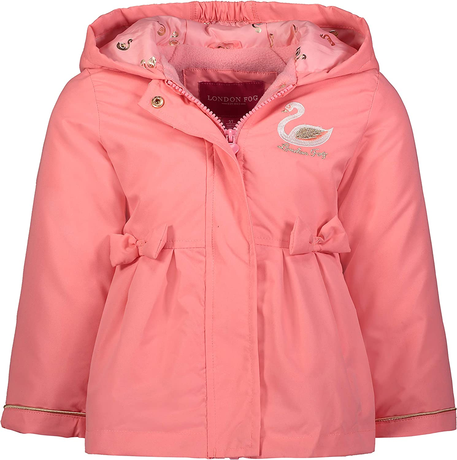 LONDON FOG Baby Girls' Perfect quality Purchase assurance Lined Fleece Jacket