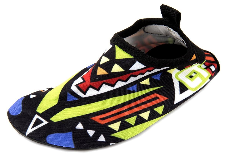 LONSOEN Toddler Boys and Girls Water Shoes Foldable Non-Slip Aqua Sandals(Toddler/Little Kid) cfssipjqmhegqxht