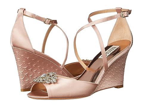 Womens Sandals Badgley Mischka Abigail Blush Satin