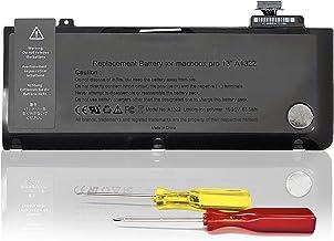 """KDJAMI Batería para MacBook Pro 13"""" A1278 A1322 [2009 2010 2011 2012 Años]--garantía de un año【10.95V 63.5 WH】"""