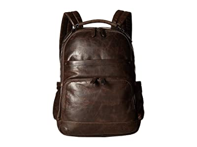 Frye Logan Backpack (Slate) Backpack Bags