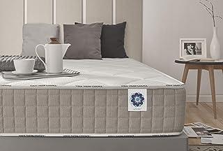 Naturalex | Summum | Colchón 105x190 Cm Viscoelástica con Tejidos SoftSensation | Transpiración Constante | Adaptación 7 Zonas de Descanso Confortables | Ergonómico Transpirable | OekoTex