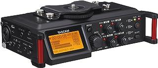 Tascam DR-70D – 4-Channel Audio Recorder for DSLR Cameras