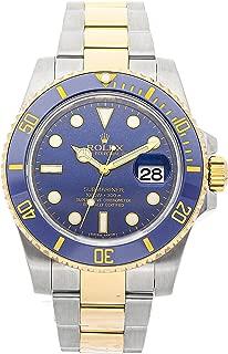 rolex submariner date 116613lb men's blue