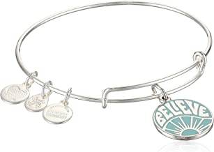 Alex and Ani Womens Words are Powerful Believe Bangle