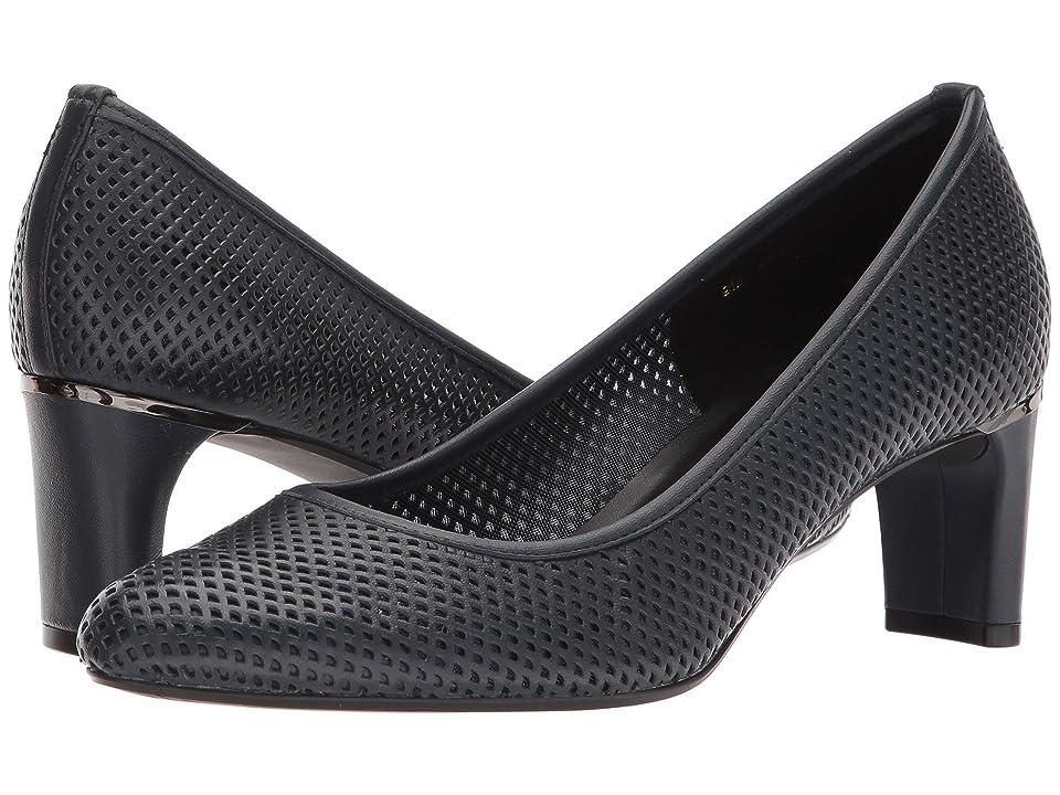 Vaneli Dawne (Navy Nappa) High Heels