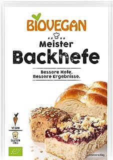 comprar comparacion Levadura orgánica extra fuerte Levadura 'Master Yeast' 7g Biovegan | Nueva fórmula libre de gluten de levadura de Baker - ...
