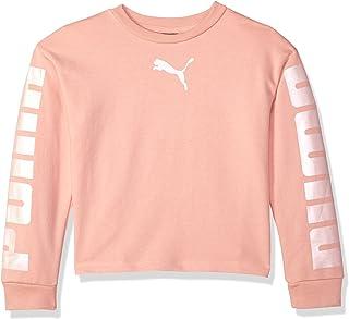 Puma 女童圆领运动衫