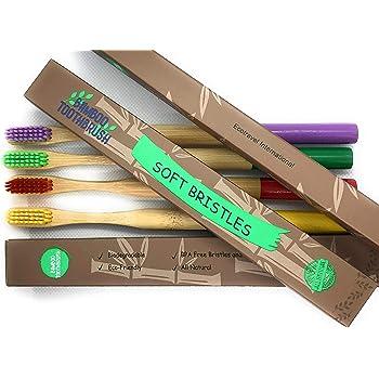 Cepillo de dientes de Bambú 100% Eco Friendly, Biodegradable ...