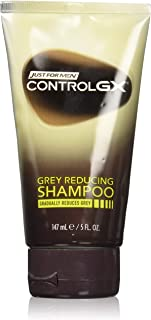 Just For Men Control Gx Shampoo 5 Ounce Grey Reducing (147ml) (3 Pack)