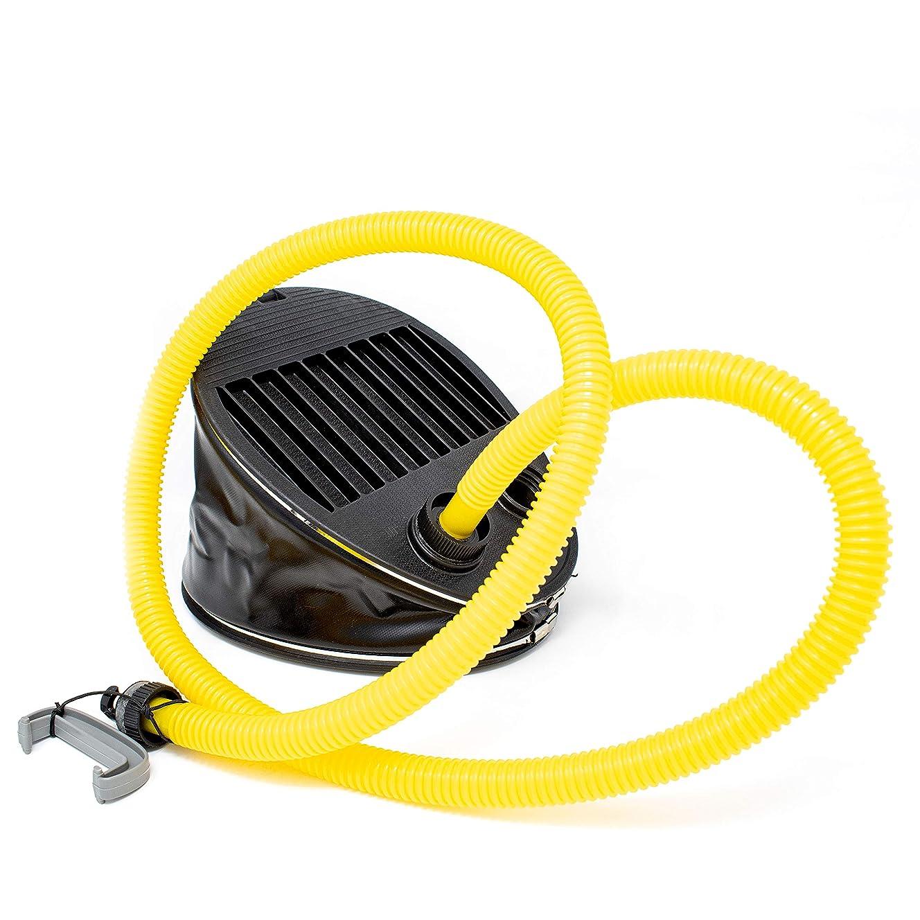 ALEKO BTPUMP High Pressure Foot Pump For Inflatable Boats And Camping Equipment